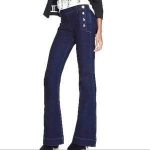 Bell Flare Mid Rise Sailor Jeans